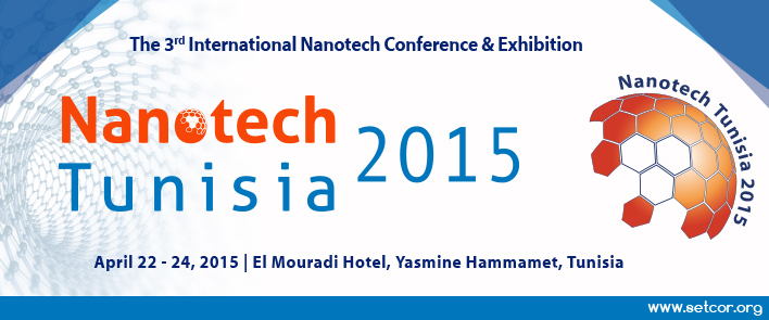 Nanotech Tunisia 2015  International Conference & Exhibition, El Mouradi Hotel Yasmine Hammamet - Tunisia