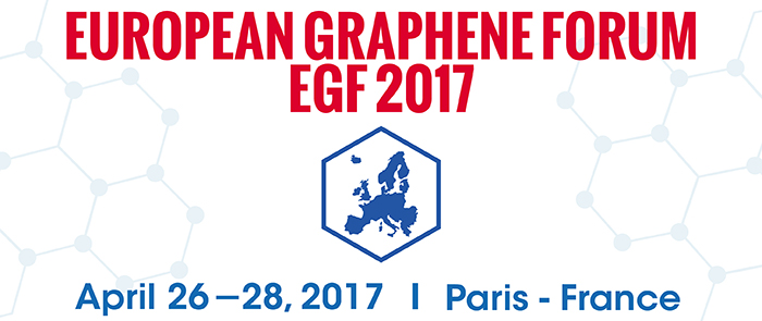 European Graphene Forum 2017, New Materials for the 21st Century