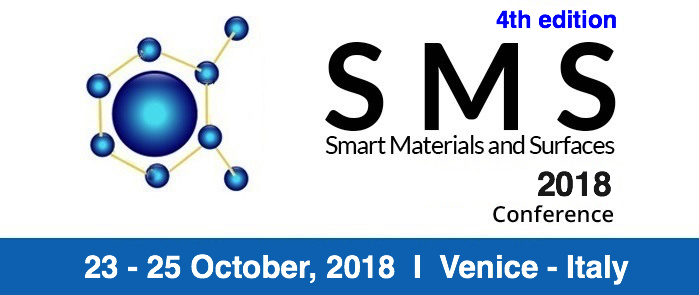 4T Edition Smart Materials & Surfaces Conference, SMS 2018