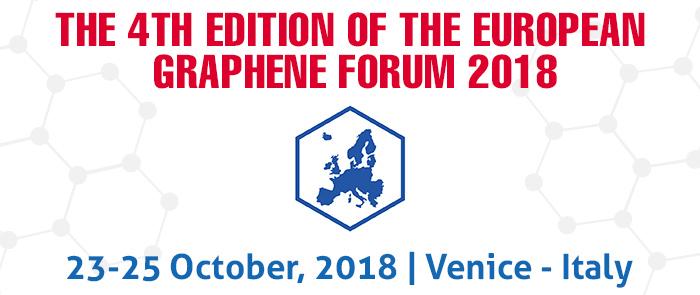 European Graphene Forum 2018, New Materials for the 21st Century