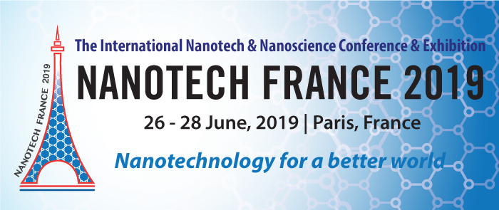 Nanotech France 2019 Conference and Exhibition - Paris, France, 26 - 28 June, 2019