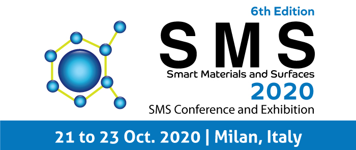 6th Edition Smart Materials & Surfaces Conference, SMS 2020