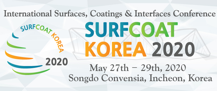 The International Conference on Surfaces, Coatings and Interfaces - SurfCoat Korea 2020