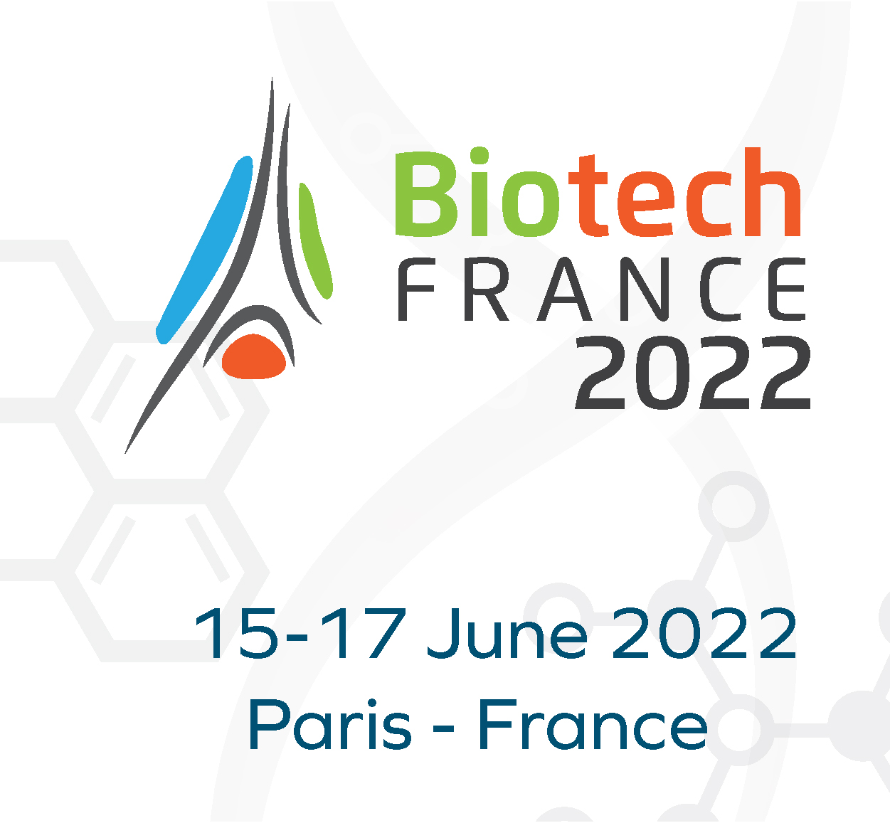Biotech France 2022 international conference and exhibition, 15 - 17 June 2022, Paris, France
