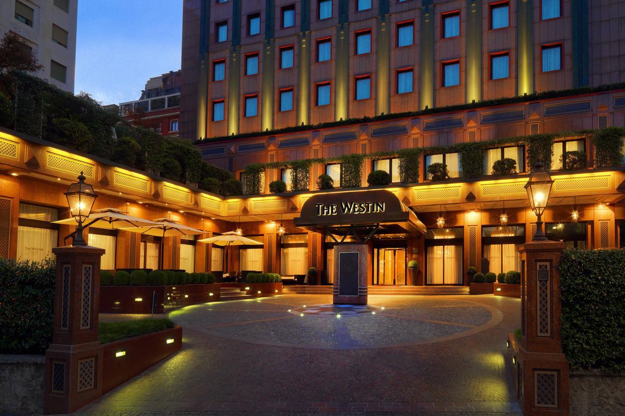 Westin Palace Hotel Milan  Exterior